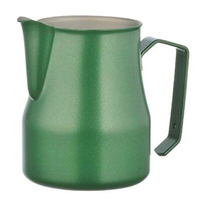 Motta Stainless Steel Professional Milk Pitcher, 50cl, Green