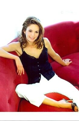 Diane Lane - In White Pants - Chillin On A Couch !!!!
