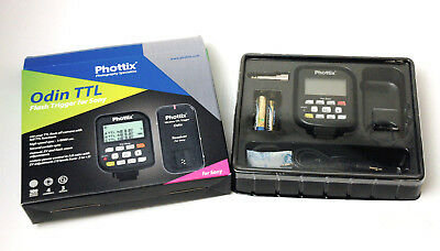 Phottix Odin Wireless TTL Trigger Transmitter for Sony -Used Excellent Condition