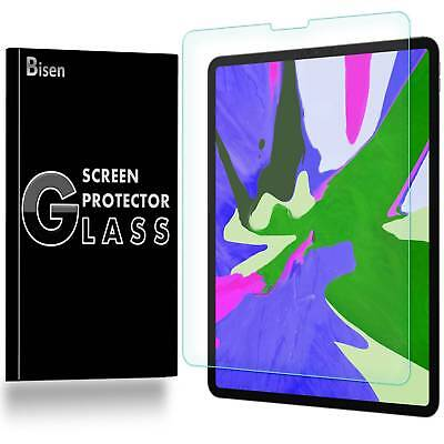 For iPad Pro 12.9 (2018) [BISEN] Tempered Glass Screen Protector Guard Shield