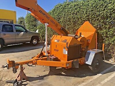 2009 Altec Wc-126A Wood Chipper Forestry Arborist Shredder Forestry Diesel