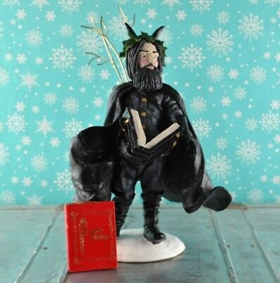 """Duncan Royale Black Peter History of Santa Claus Limited Edition 12"""" Tall"""