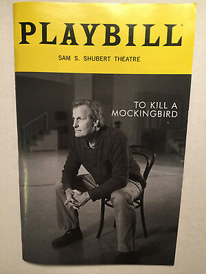 TO KILL A MOCKINGBIRD PLAYBILL BOOK BROADWAY NOVEMBER 2018 Jeff Daniels