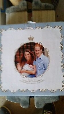 Commemorative Prince George Plate 2013 Royal Crest Fine Bone China NEW $29.95rrp