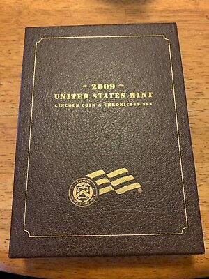 2009 United States Mint Lincoln Coin & Chronicles Set. Original owner. Perfect!,