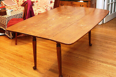 Magnificent Ethan Allen Solid Maple Dinner Table/Furniture