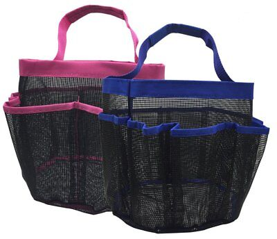 kinla Gym Dorm Shower Caddy Tote (Pack of 2)-Quick Dry Hanging Mesh Shower Caddy