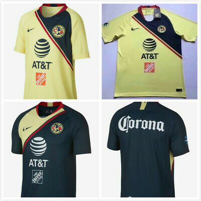 MEN S 2017 - 2018 Club America Short Sleeve Home Soccer Jersey by ... fe93fa621