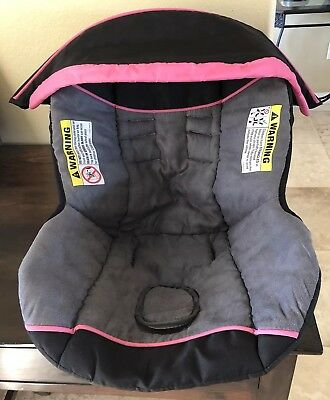 Baby Trend Flex Loc Infant Car Seat Cover Canopy Replacement Part