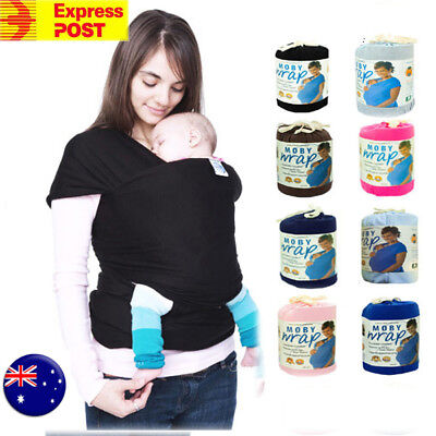 1PC Adjustable Baby Sling Stretchy Wrap Carrier Pouch Infant Birth Breastfeeding