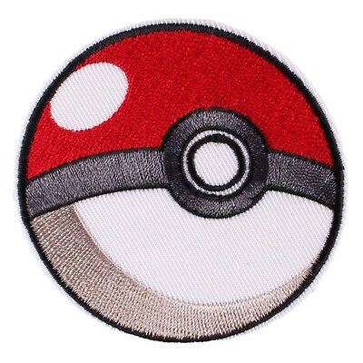1pcs Cartoon Pokemon Embroidery Iron ON Patch Badge Jean Coat Backpack Patch