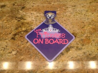 NEW Car Sign - Little Princess on Board