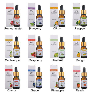1 Pcs Pure Natural Fruit Essential Oil Aromatherapy Essential Oil Fragrance