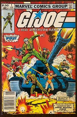 G.I. JOE A Real American Hero #1 - HIGH GRADE 9.9 MT - CGC it! White Pages