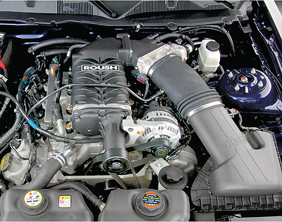 Ford Mustang Gt 4.6L 2010 Roush Phase 2 Supercharger con Intercooler Kit