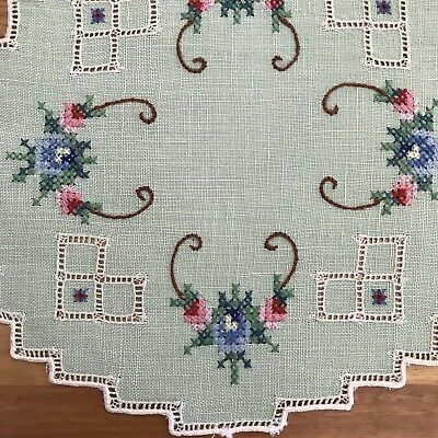 Vintage Embroidery Doiley