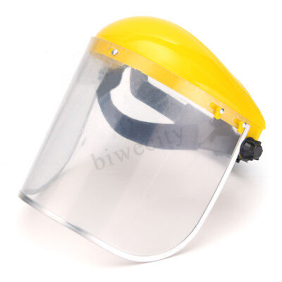 New Clear Grinding Safety Face Shield Screen Mask Visors For Eye Face Protection