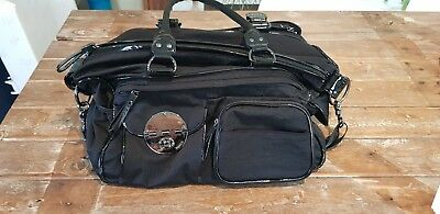 Black Mimco Lucid Baby Nappy Bag