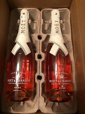 "Moet & Chandon x Off-White ""Do Not Drop"" Virgil Abloh Limited Edition Set of 2"
