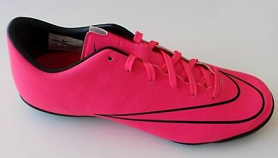quality design 581ca a8628 NIKE MERCURIAL VICTORY V IC Indoor Pink Soccer Cleats Sala 40 Futsal Shoes  US-7