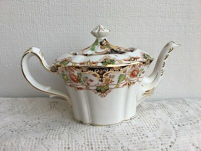 Rare! Antique E & BL Duchess China Handpainted  Tea Pot c1900s (219)