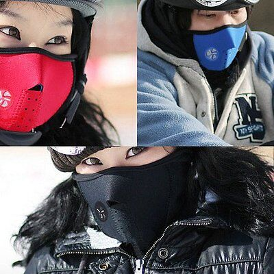 Ski Snowboard Motorcycle Bike Bicycle Winter Sport Soft Face Mask Neck Warmer 7