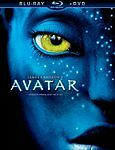 Avatar blu-ray DVD combo pack (James Cameron) English and French w/ Slipcase