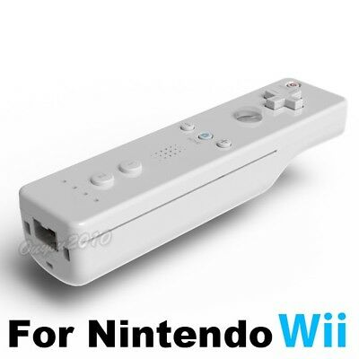 White Wireless Remote Controller For Nintendo Wiimote Wii WiiU Video Games USA