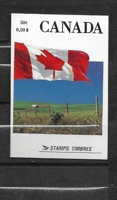 pk39394:Stamps-Canada #BK111 Canada flag 50 cent Booklet