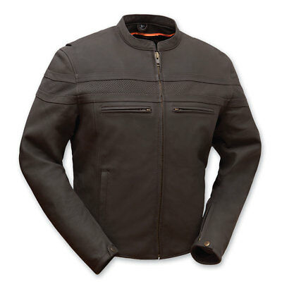 First Manufacturing Co. Men's Adrenaline Leather Jacket