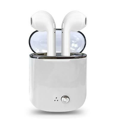 Wireless Bluetooth Earbuds Headset In Ear Earphone for iPhone X 7 8 w/Charge Box