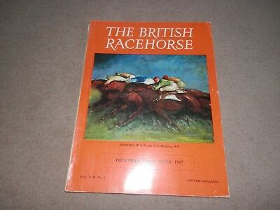 The British Racehorse Dec 1967 John Skeaping Franco Varola Dosage Ragusa