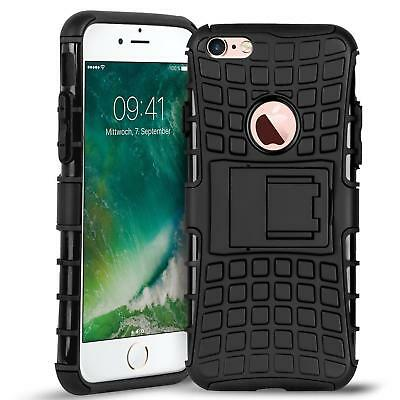 Apple Iphone 6s Plus Hybrid Funda Protectora Protector de Móvil Funda