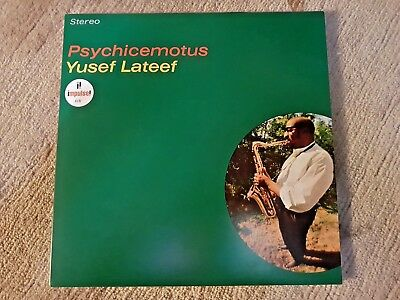Yusef Lateef  - Psychicemotus  -Vinyl/ LP- GATEFOLD- NEU/ NEW / MINT / SEALED