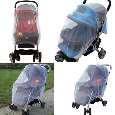 US Newborn Baby Stroller Pushchair Pram Mosquito Fly Insect Net Mesh Buggy Cover