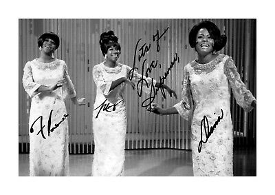 Diana Ross And The Supremes At ISU Arena 0640 Vintage Music Poster Art