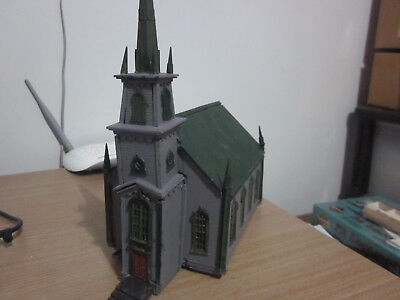 HO Scale Church (Atlas) GC Must Sell. Reduced!