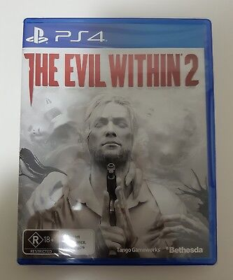 NEW SEALED The Evil Within 2 PS4 Game