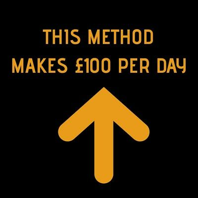 Earn £100 Per Day with this stupidly simple method👍 Easy