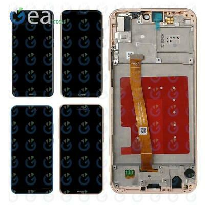 Display Lcd + Touch Screen Per Huawei P20 LITE ANE-LX1 Vetro Schermo + Frame AAA