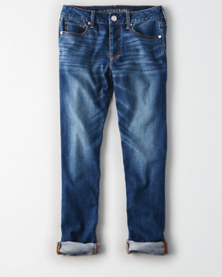 AMERICAN EAGLE OUTFITTERS 3437 Womens Bright Vintage Tomgirl Jeans Choose Size