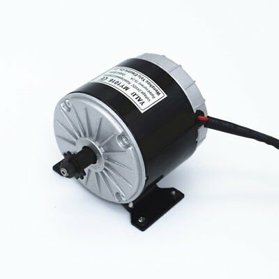 DC 24V Brushed Electric Motor Permanent Magnet Electric Motor For E Scooter U@