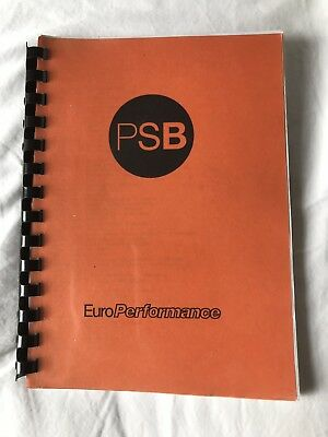 Pet Shop Boys Mega Rare 1991 Performance Tour Itinerary Book