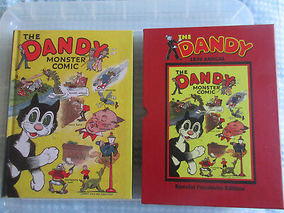 The Dandy Monster Comic No.1 1939 Hardback Annual, 2006 Facsimile with slipcase.