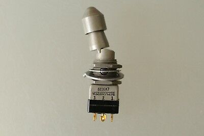 Mil-Spec EATON MS21027C231 Toggle Switch, DPDT, Latched, Locking Lever Actuator,