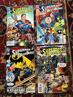 Superman & Bugs Bunny #1 - 4 of 4 Complete Story DC Comics