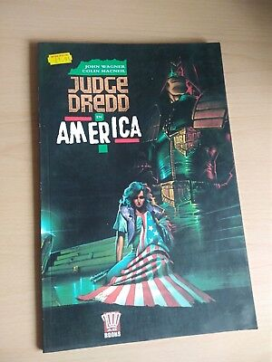 Judge Dredd in America - John Wagner & Colin Macneil.