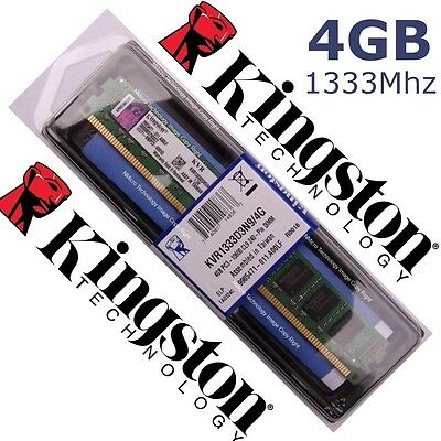 Memory RAM DDR3 4GB 1333Mhz - Kingston ¡ NEW 100% COMPATIBLE