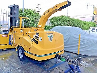 2000 Vermeer BC1000 Drum Wood Chipper Carb Complaint 2400 Hours Cummins Diesel