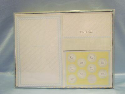 Baby Boy Announcement Kit by g squared ~ 25 Announcements + 50 Thank You Notes
